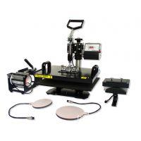 供应多功能五合一热转印烫画机烤杯机 HP5IN1(28*38cm)