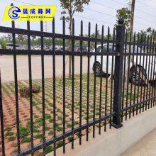 江门铁路项目部围栏 组装型锌钢栅栏 惠州锌钢栏杆厂家