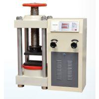 供应建筑石料承载压力强度试验设备0-2000KN试验力值石料承载压强性能测试仪