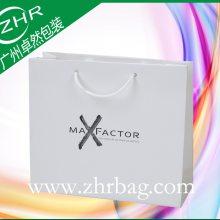 酒会晚宴礼品袋 高级白卡纸袋 加厚通透包装袋 可印刷各类彩图