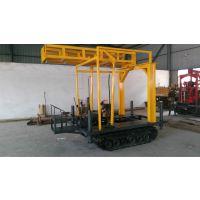徐州中地100型履带式钻机改装液压塔架,塔泵一体式钻塔