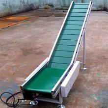 乾德机械供应重型工业用输送设备 带挡板式提升链板输送机