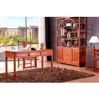 新中式红木家具简约风格现代简约风格装修图片电脑桌