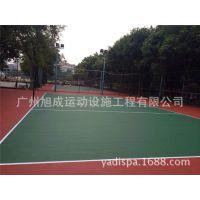 广东轻工学阮硅PU网球场工程/硅PU塑胶跑道涂料/塑胶涂料批发