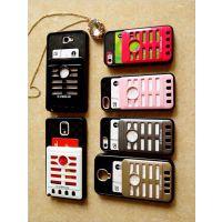麦克风二代卡包手机壳 三星S4钱包外壳 iphone4 5s手机钱包保护套