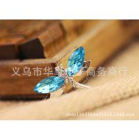 蜻蜓点水 iPhone4s手机壳 手机保护套 水钻 外壳 苹果手机保护套