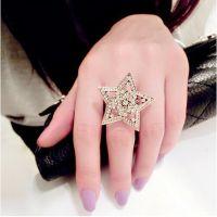 来自星星的你 开口合金镶钻指环 欧美复古戒子 戒指