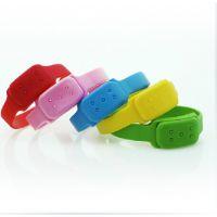 预防登革热产品 硅胶驱蚊手环 无毒驱蚊硅胶手环 可适用孕妇儿童