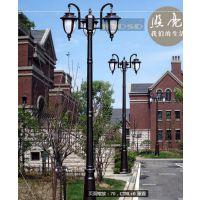咸宁太阳能庭院灯厂家供应3米-4米LED小区庭院灯照明专用格