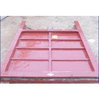 海河批量生产1米*1米铸铁镶铜方闸门价格