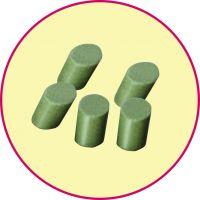 湖州厂家供应绿色高铝瓷圆柱磨料,氧化铝抛光石厂家直销,批量供应高铝瓷磨料,耐磨性极佳