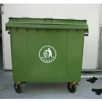 660L升环卫垃圾桶塑料移动垃圾桶大型垃圾车户外垃圾桶垃圾箱