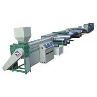塑料拉丝机挤出机、编织袋生产线