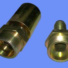 GB9065.3镀白锌胶管接头产品结构