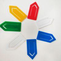 5cm 回形针彩色 异形曲别针 办公用品混批