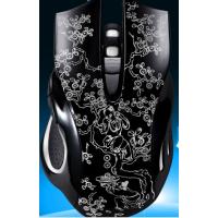 寮步蓝牙键盘鼠标表面打字商标激光镭雕机