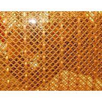 供应金属装饰网、菱形金属网帘、幕墙装饰网