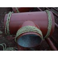 陶瓷耐磨三通|耐磨陶瓷三通|球形耐磨三通|沧州渤洋管道