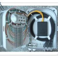 SMC光纤分纤箱 12芯光纤分纤箱 光纤配线箱分线盒