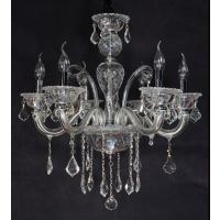 CVMA厂家直销 5017C-6A欧式蜡烛白炽灯水晶吊灯客厅餐厅卧室灯具灯饰可定制