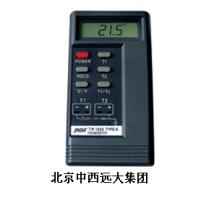 中西供应便携数字温度计(含探头)(-50°-1300°)QG3-TM1310
