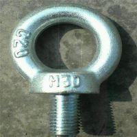 吊环螺栓、吊环螺栓规格尺寸/元隆紧固件、镀锌吊环螺栓