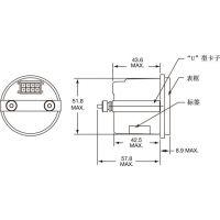 科蒂斯 CURTIS 840/841 多功能仪表 小时计/电量表/维护状态