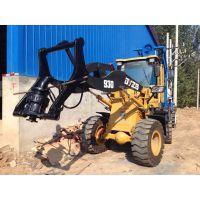 装载机挖坑机 铲车挖坑机 五一促销 限时销售 电杆打孔机 现货