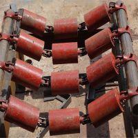 串联托辊 防跑偏托辊 长期供应 钢