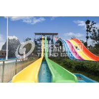 大型水上乐园设备厂家高速变坡滑梯水上乐园滑梯设备