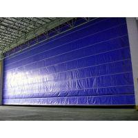 高藤门业供应堆积式高速门.背带式快速门001