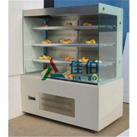 山东立式直角敞开式蛋糕柜 蛋糕展示柜 蛋糕保鲜冷藏柜
