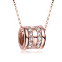 银狐珠宝 s925纯银转运珠吊坠 欧美饰品批发时尚项链新款工厂直销
