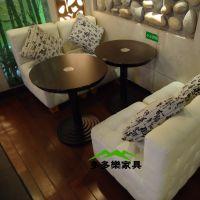 餐厅大理石餐厅桌 餐厅高档圆形餐桌 中西餐大理石餐桌定制