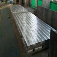 泊铸国标一级铸铁平板CAD成型技术及浇铸要领