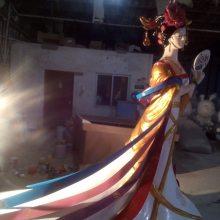 玻璃钢树脂纤维雕塑贵妃像古代四大美女仿真塑像杨贵妃肖像圆雕厂