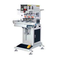 温州市移印机厂家东莞优彩300P三色全自动转盘移印机