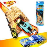 美泰正品风火轮初级轨道弹射出发轨道玩具套装BLR01赛车轨道套装
