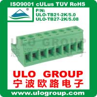供应插拔式接线端子 2EDGK-5.08 厂家直销 宁波欧路电子 ULO