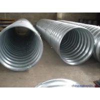 大口径热侵塑金属波纹涵管