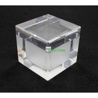 直销定制亚克力饰品盒珠宝盒戒指展示盒有机玻璃透明盒子定做批发