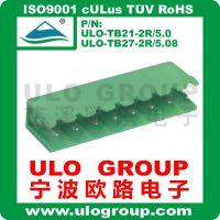 促销pcb接线端子 插拔式ULO-TB21-2R/5.0端子 绿色宁波欧路电子19