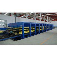 山东青岛恒温冷藏车厢板工艺生产线设备
