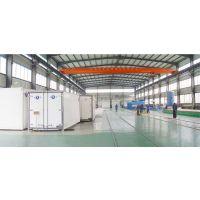 青岛国森冷藏物流设备复合厢板热压机