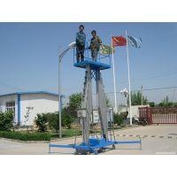 铝合金升降机 双柱式升降平台 移动高空作业升降车