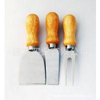 供应奶油刀组合黄油刀 -- 木制奶油刀