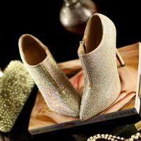 外贸春季新款欧美高跟鞋真皮女鞋细跟单鞋尖头鞋女鞋641 直销