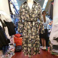 2015夏季新款韩版时尚热卖女装 碎花雪纺防晒服连衣裙两用MILA-L