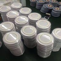优势垫供应工业用橡胶制品、单面3M胶透明圆形硅胶脚、
