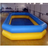 充气垫游泳池河南哪卖 橡皮充气游泳池图片 大型充气式游泳池